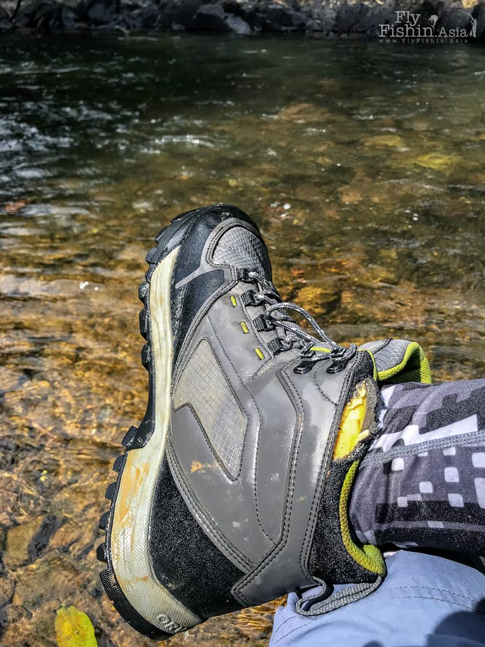 Torn Orvis Ultralight Wading Boots