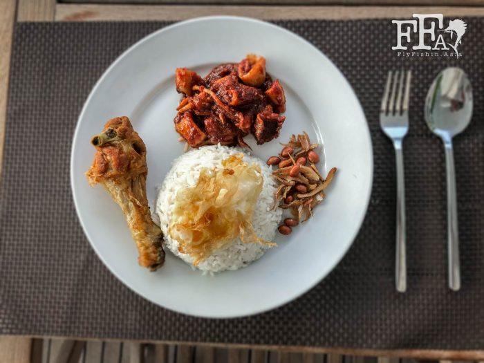 Malaysia's number 1 dish, the Nasi Lemak!