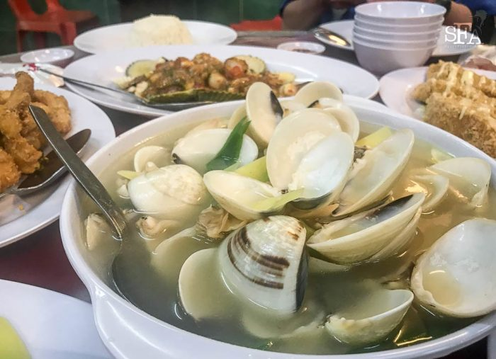 These la-la or clams are just so yum