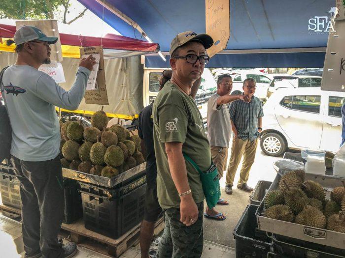 King of fruit, Durian!