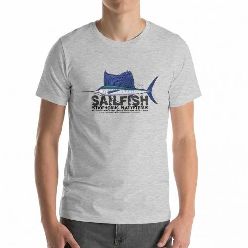 indo pacific sailfish t-shirt