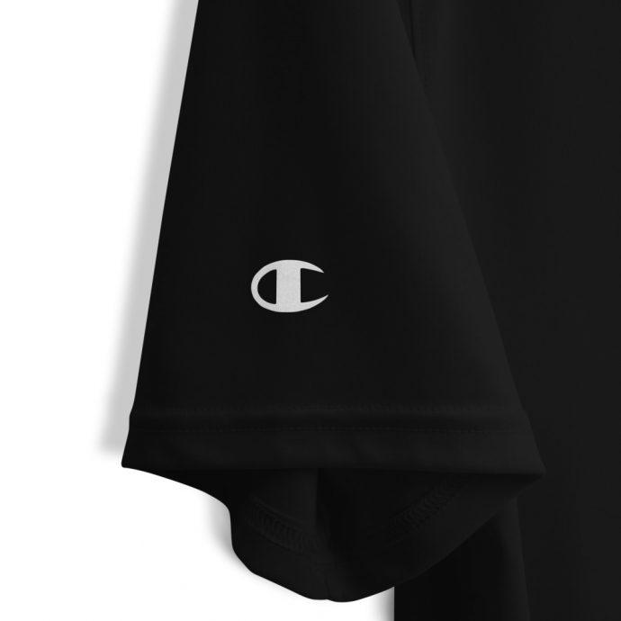 Champion sailfish t-shirt with logo on sleeve