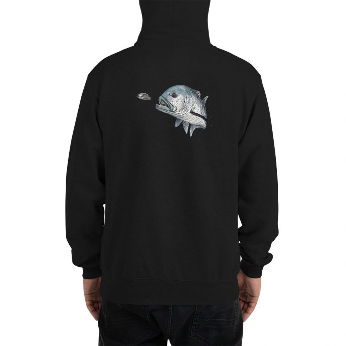 giant trevally champion hoodie back