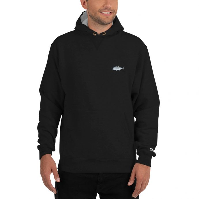 giant trevally champion hoodie front