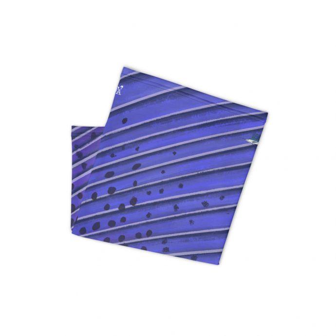 Sailfish Neck Gaiter Folded Flat White