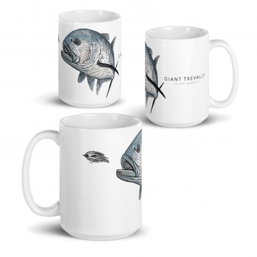 giant trevally Mug 15oz