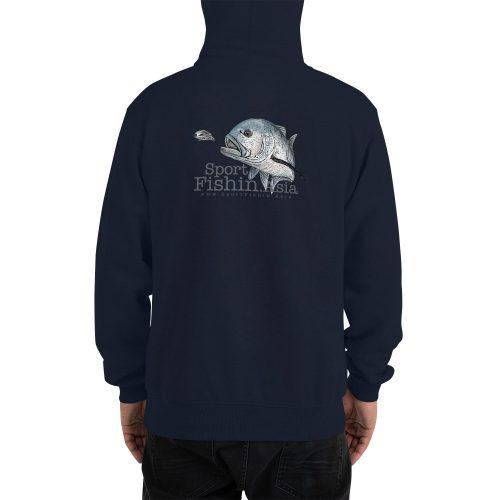 giant trevally champion hoodie back model
