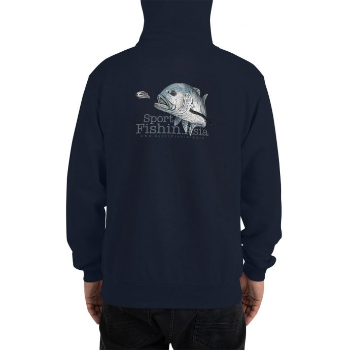 giant trevally champion hoodie back model