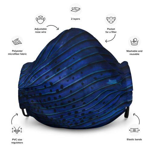 sailfish face mask design 2