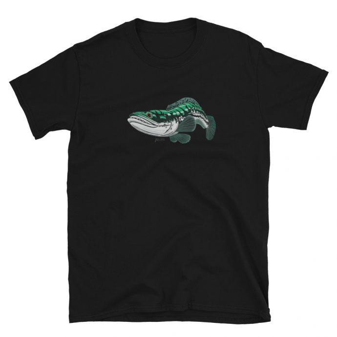 toman giant snakehead short sleeve t-shirt