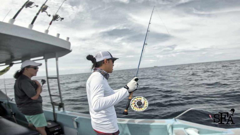 Tuz fly fishing in Kuala Rompin Malaysia
