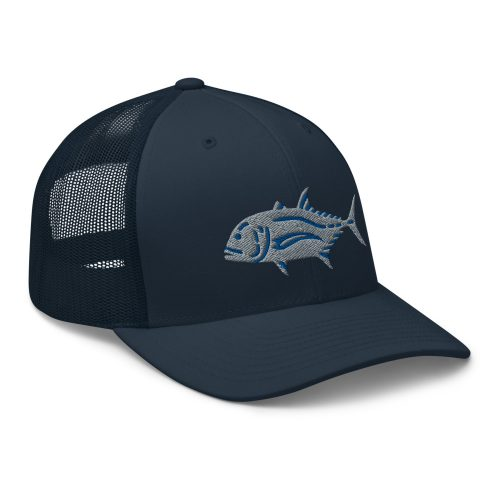 Giant trevally retro trucker hat